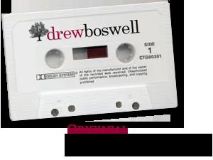 Drew Boswell Original Sermon