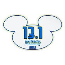 disney half sticker
